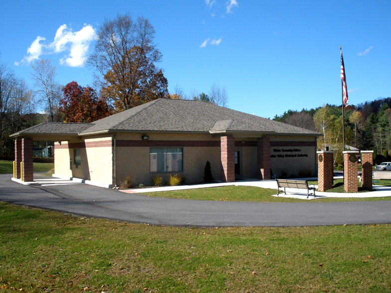 Photo of new municipal building