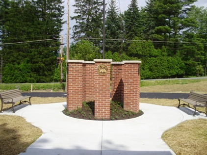 Photo of Veterans' Memorial Dedication