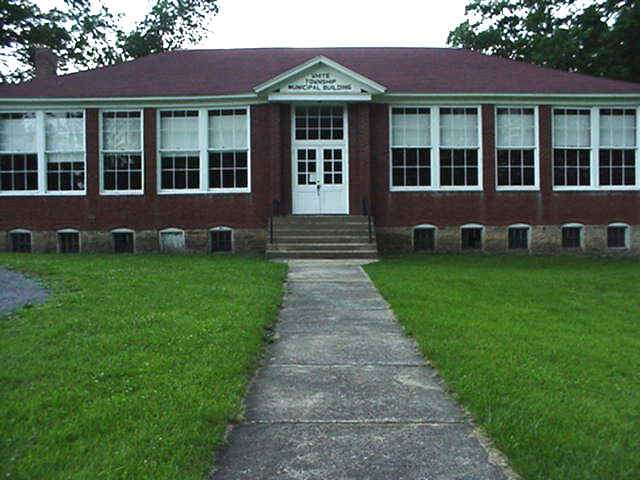 Photo of former municipal building
